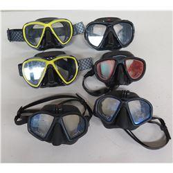 Qty 6 HammerHead CE Ultra Clear Masks