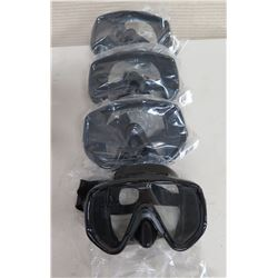 Qty 4 CE Ultra Clear Masks - 3 New in Package