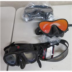 Qty 3  HammerHead CE Ultra Clear Masks