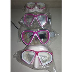 Qty 4 HammerHead CE Ultra Clear Masks New in Package