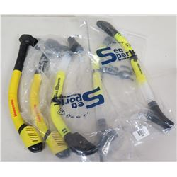Qty 5 Sea Sports Snorkels New in Package