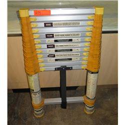 Metal Telescoping Extension Ladder