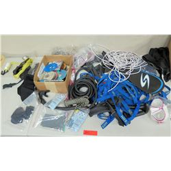 Paddle Cover, Mask, Fender Whips, Nylon Tie Down Straps, Rope, CD's, etc