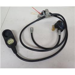 ScubaPro G250 Graphite Regulator & Oceanic Dive Pressure Gauge, Scuba, Untested. Working condition u