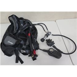 AquaLung Legend Regulator & Zuma Buoyancy Compensator BCD, Scuba, Untested. Working condition unknow