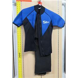 Sea Sports Short Sleeve Wet Suit (one leg cut off)