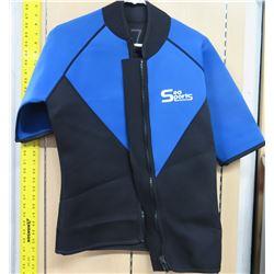 "Sea Sports Short Sleeve Wet Suit Top 31"" Long"