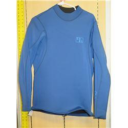 Xcel Long Sleeve Blue Wet Suit Top Size 2XL