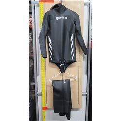 2 Piece Mares Apnea Instinct Long Sleeve Wet Suit
