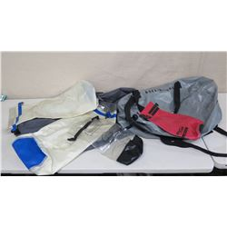 Qty 5 Dry Bags: Seal Line Baja 5 HD, AquaLung, Outdoor Products, etc