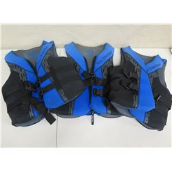 Qty 3 Full Throttle Life Vests