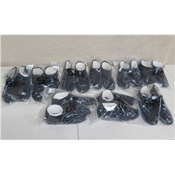Qty 9 5mm Low Top Boots New in Package