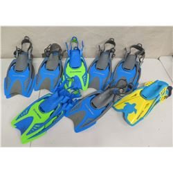 Qty 8 US Divers Swim Fins