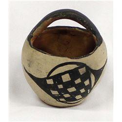 Historic Santo Domingo Pottery Basket