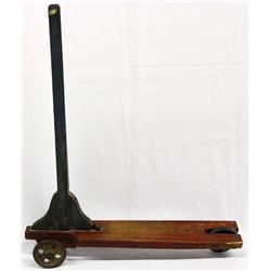 Antique Child's Wood Scooter