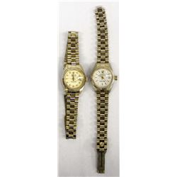 2 Pre-owned Watches marked Rolex