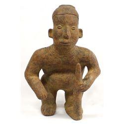 Pre Columbian Pottery Male Replica