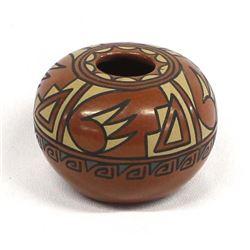 Santa Clara Pottery Seed Jar by Minnie Vigil