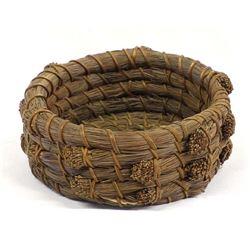 Kumeyaay Mission Indian Pine Needle Basket