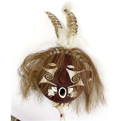 Tohono O'odham Gourd Mask by Billy C. Manuel