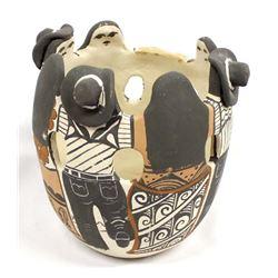 Jemez Pottery Friendship Bowl by Fannie Loretto