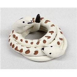 Acoma Pottery Rattlesnakes by Norma Jean