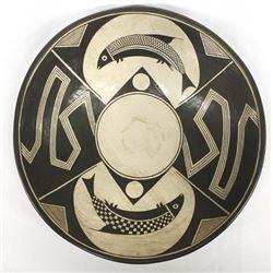Mata Ortiz Pottery Bowl by Roberto Banuelos