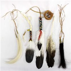 Native American Dance  Collectibles including feathers, dangles, & Tassles