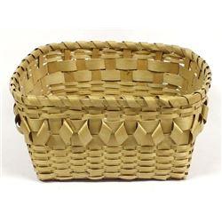 Native American Penobscot Curlique Basket