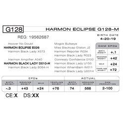 HARMON ECLIPSE G128 -M