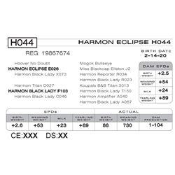 HARMON ECLIPSE H044