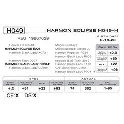 HARMON ECLIPSE H049- H