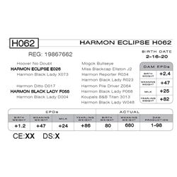 HARMON ECLIPSE H062