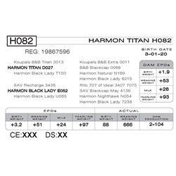 HARMON TITAN H082
