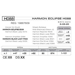 HARMON ECLIPSE H088