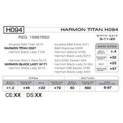 HARMON TITAN H094