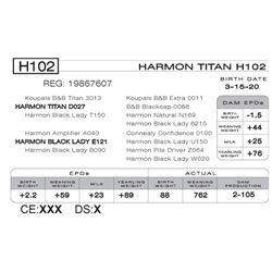 HARMON TITAN H102