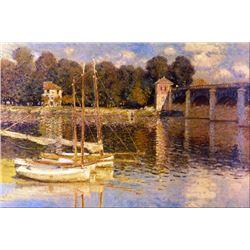 Claude Monet - Bridge at Argenteuil