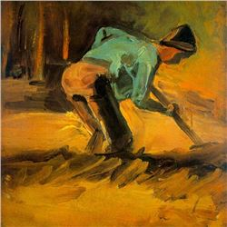 Van Gogh - Man Digging