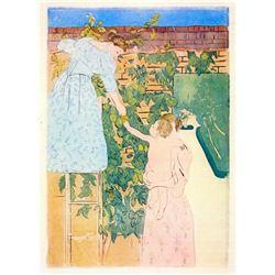 Mary Cassatt - Picking Fruit