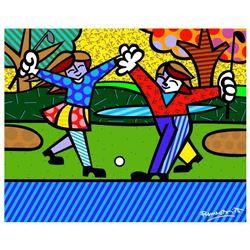 New Golfer by Britto, Romero