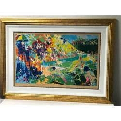 """Love Story (Tennis)"" by LeRoy Neiman (1921-2012)"