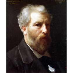 William Bouguereau - Self Portrait Presented to M Sage