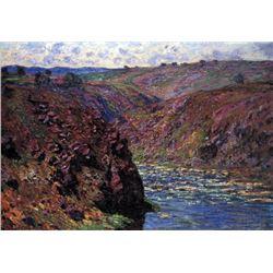 Claude Monet - Les-Eaux Semblantes in the Sunlight