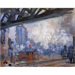 Claude Monet - The Gare Saint-Lazare