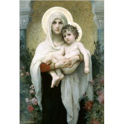 William Bouguereau - The Madonna of the Roses
