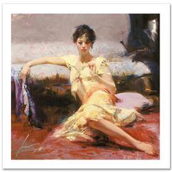 Parisian Girl by Pino (1939-2010)