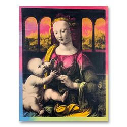 "Steve Kaufman (1960-2010), ""Madonna and Baby Jesus"" Hand Signed and Numbered Lim"