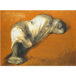 Soledad Acostada (Solitude Lying Down) by Francisco Zuniga 90/100