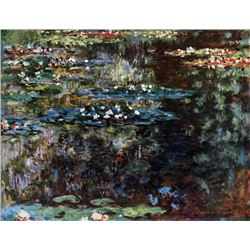 Claude Monet - Water Garden at Giverny